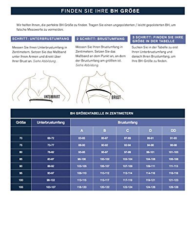 21cfa91cc Leonisa Perfect Everyday Posture Corrector Underwire Cami Sports Bra for  Women with Back Support