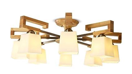 LYTSM® lámparas de Techo, LED Sencillas de Estilo japonés ...