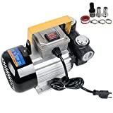 #3: Zinnor Oil Diesel Fuel Transfer Pump Self Priming & Bypass Valve w/Connector & Filter & Clamps 110V AC 60L/min 550W SHIP from USA
