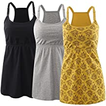 KUCI Maternity Nursing Top Tank Cami, Women Maternity Nursing Sleep Bra Breastfeeding Tops for Pregnancy