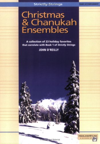 Christmas and Chanukah Ensembles: Piano Acc. (Strictly - Piano Chanukah