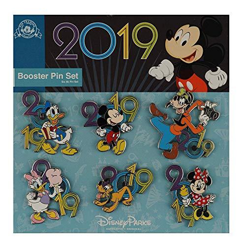 Disney Mickey & Friends 2019 Booster Pin Set 6 Piece