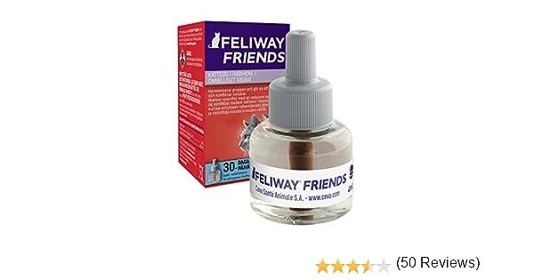 Ceva Feliway Friends - Recambio, kit de iniciación para gatos, 48 ml: Amazon.es: Productos para mascotas