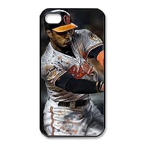 iphone4 4s phone case Black Baltimore Orioles HUI5013521