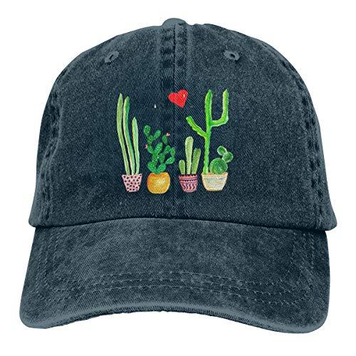 Love Artical Vintage Jeans Adjustable Baseball Cap Cotton Denim Dad Hat Navy ()