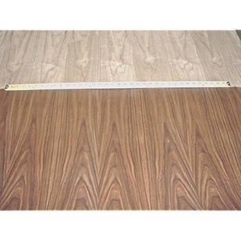 wood veneer walnut quartered 2x8 psa backed wood
