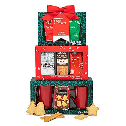 Starbucks Holiday Tower Gift Set- Perfect Starbucks Gift set