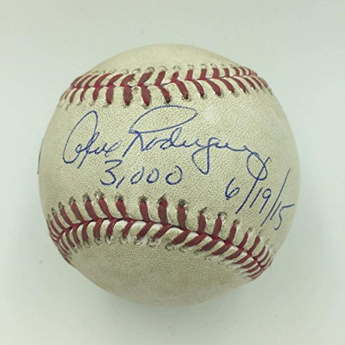 (Incredible Alex Rodriguez 3,000 Hit Game Used Signed Inscribed Baseball - Steiner Sports Certified - MLB Game Used Baseballs)