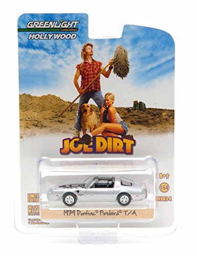 D TRANS AM from the classic film JOE DIRT Hollywood Greatest Hits 2015 Greenlight Collectibles 1:64 Scale Limited Edition Die-Cast Vehicle by GL Hollywood (1979 Pontiac Firebird)