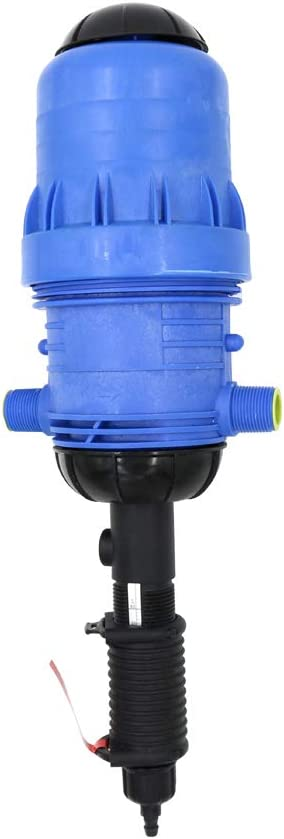 IDABAY Dispositivo de Dosificador, Impulsado por Agua Bomba de Dosificación para Fertilizante Quimicos liquidos Abonos para Cultivo Lavado Industrial Jardinería etc Rango de Escala 0.4-4% (32mm)