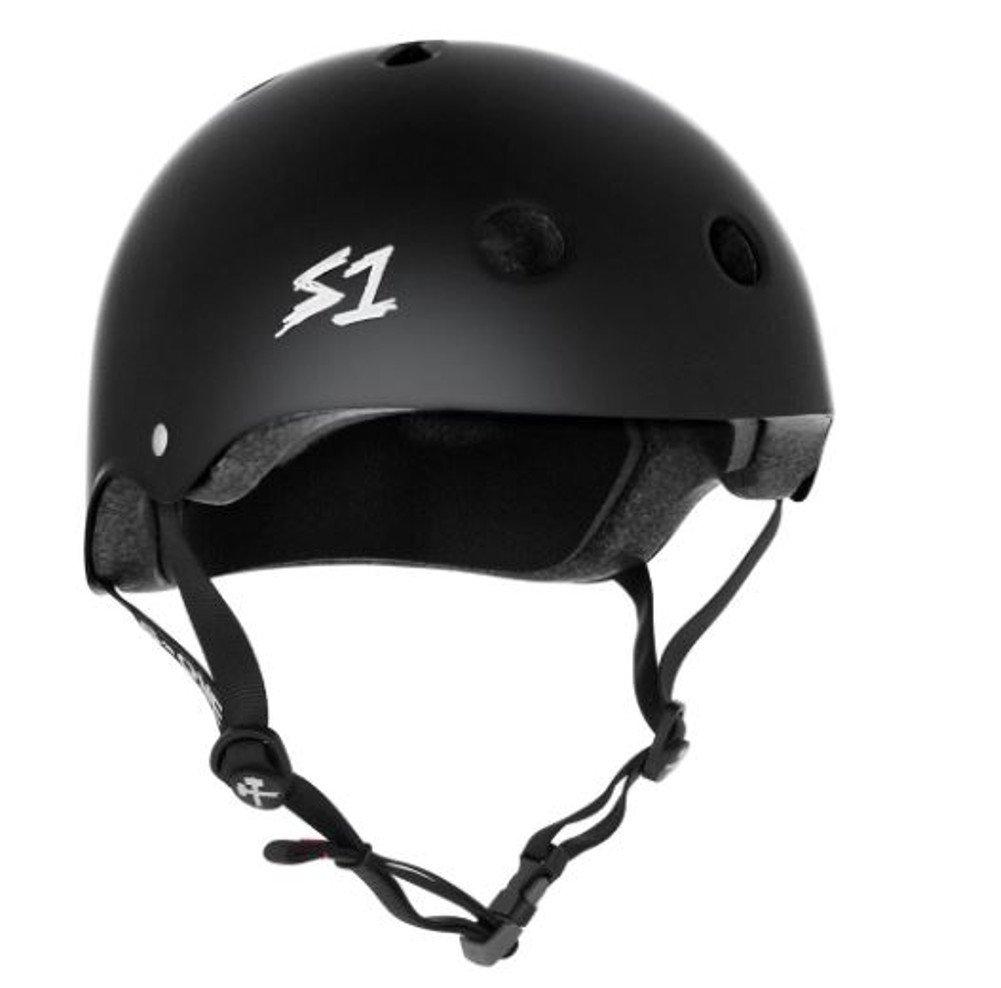 S1 Mega Lifer Helmet - Black Matte (XX-Large 25'')
