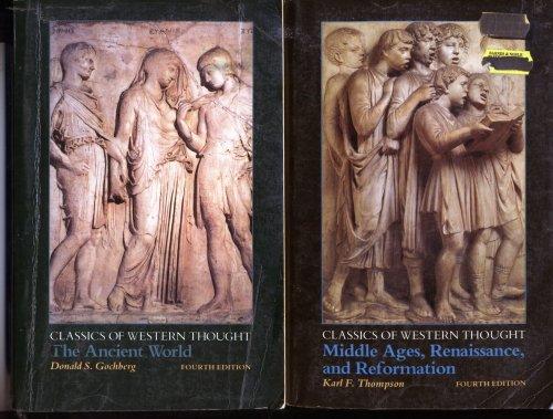 Classics of Western Thought Vol. I & II