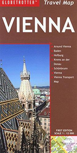 Travel Map Vienna (Globetrotter Travel: Vienna)