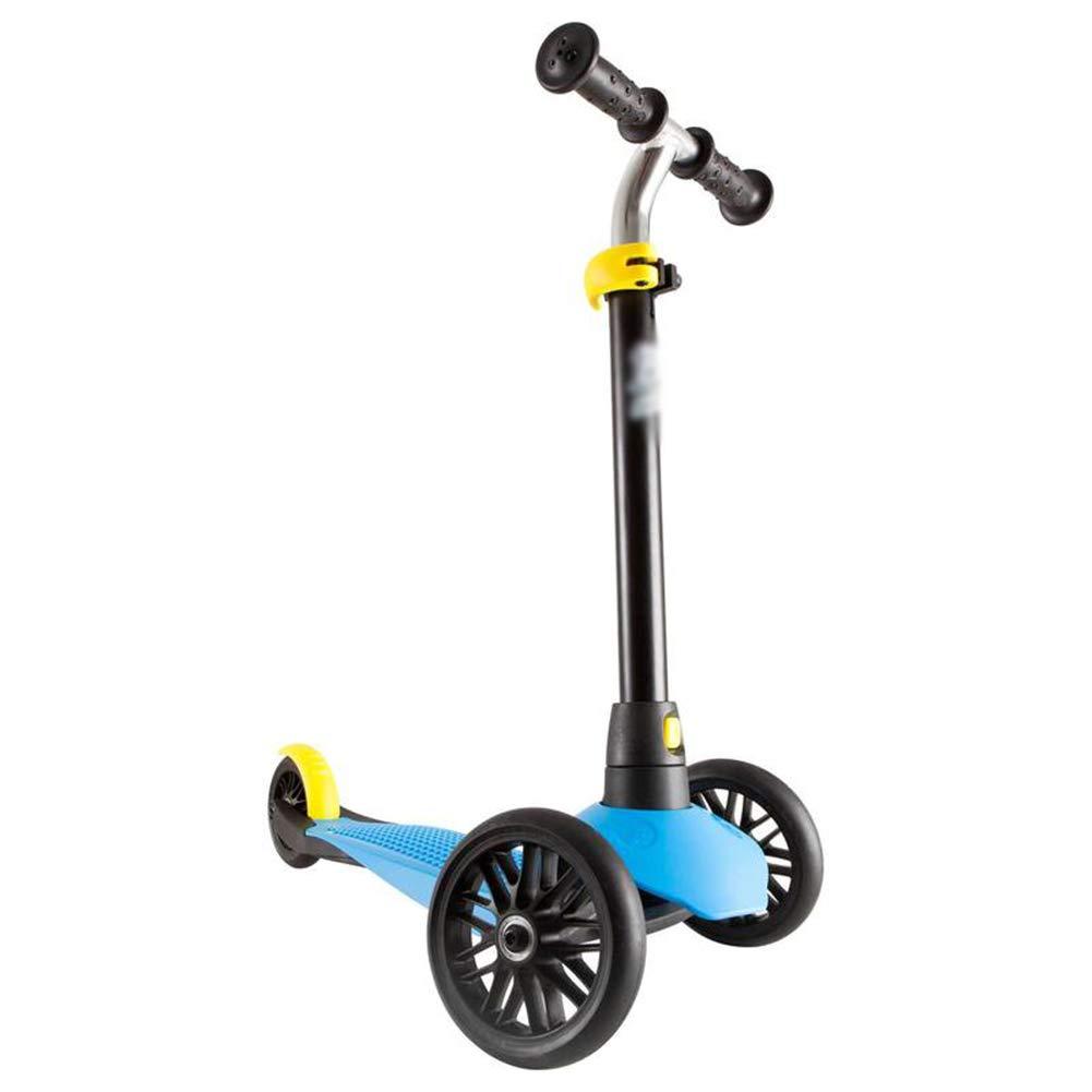 【超歓迎】 キックスクーター三輪車スケートボードペダル式乗用スタントスクーター調節可能な折りたたみTバーハンドルライトアップホイール付き B07H9NZ696 B07H9NZ696 青 青 青 青, タウンランド Townland:71de0e16 --- a0267596.xsph.ru