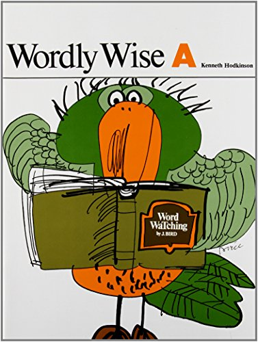 Wordly Wise, Book A