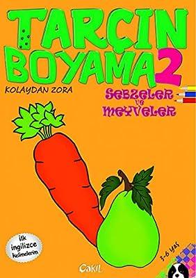 Tarcin Boyama 2 Sebzeler Ve Meyveler Amazon Co Uk Fevziye