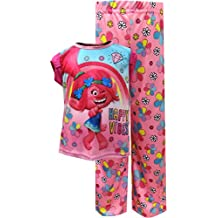 Trolls Toddler Girls' 2-Piece Pajama Set