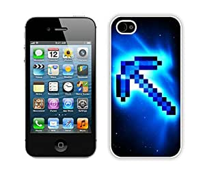 New Unique And Popular iPhone 4S Case Designed With Minecraft 49 White iPhone 4S Cover