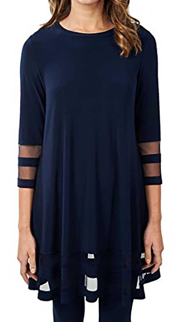 Joseph Ribkoff Tunic Style 171172 Midnight Blue (6)