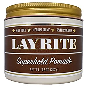 Layrite Superhold Pomade, 10.5 Ounce