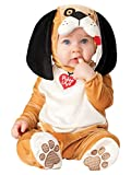 InCharacter Costumes Baby's Puppy Love Costume, Tan/White/Black, Medium