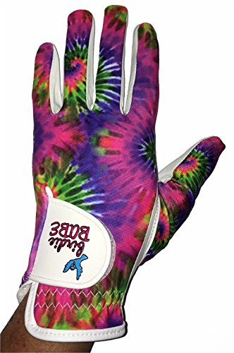 Birdie Babe Ladies Golf Glove (Hippie Hooker, Large) -