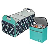 Arctic Zone Trunk Organizer and Insulated Cooler Set, Sailboat