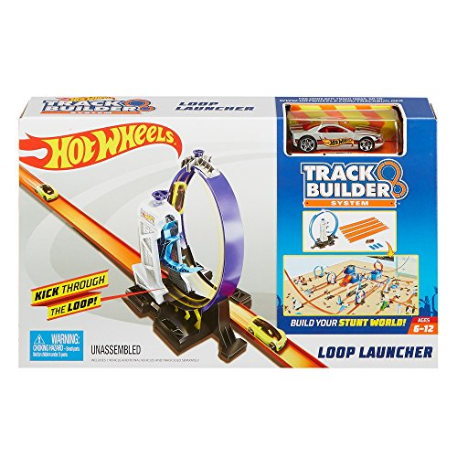 Hot Wheels Track Builder Loop Launcher - Jim Hot