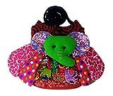 SIAM YIM SA-RA-EI style 01 :Thai style paraphernalia small bag (Elephant striped) Sling shoulder bag/Wallet purse coin/Purse cell/Phone pouch/Handbag