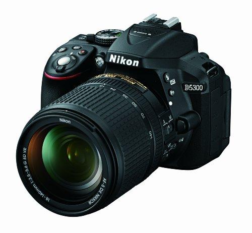 Nikon D5300 24.2 MP CMOS Digital SLR Camera with 18-140mm f/3.5-5.6G ED VR AF-S DX NIKKOR Zoom Lens (Black) 2