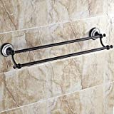 Ling@ Oil Rubbed Bronze Double Towel Bar