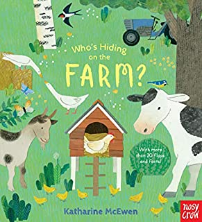 Book Cover: Who's Hiding on the Farm?