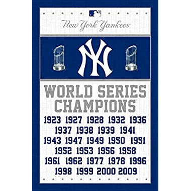Trends International New York Yankees Champions Wall Posters, 22  by 34
