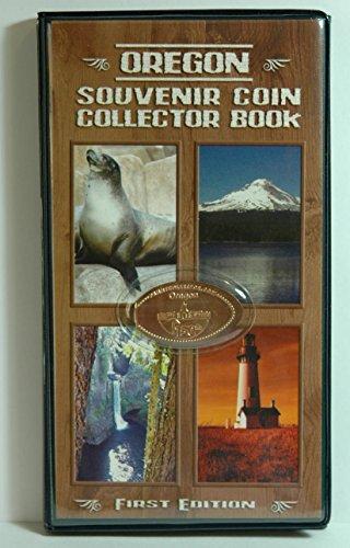 Oregon Souvenir Coin Collector Book for Elongated Pennies