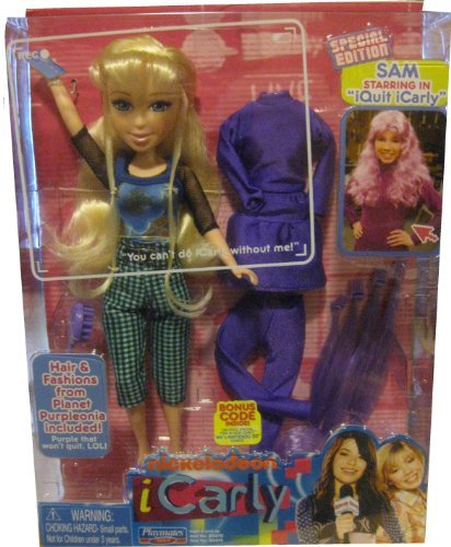 """iCarly 11 Sam Doll Special Edition """"I Quit iCarly"""" for sale  Delivered anywhere in USA"""