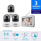 Best Baby Monitors - Samsung SEW-3043W BrightVIEW HD Baby Video Monitoring System Review