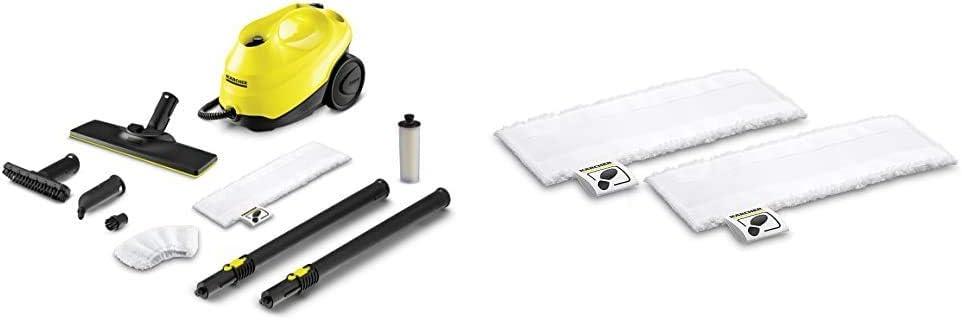 *EU Serpilli/ères microfibre pour buse sol Easy Fix 2 pi/èces K/ärcher 1.513-110.0 SC 3 EasyFix yellow