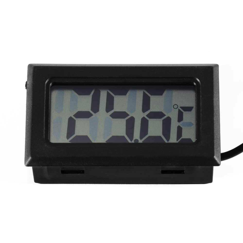 TRIXES Nuevo Mini Termómetro Digital con Monitor LCD para Neveras o Congeladores: Amazon.es: Electrónica