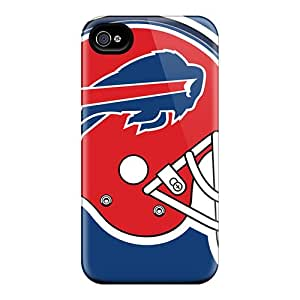 Shockproof Hard Phone Case For Iphone 4/4s (fyH9256ZrIe) Custom Colorful Buffalo Bills Pictures