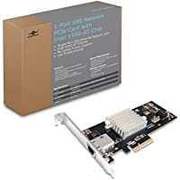 1-Port 10G Network PCIe Card with Intel X550-AT Chip