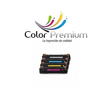 Pack 4 Cartuchos de tóner HP 203X CF540X, CF541X, CF542X, CF543X ...