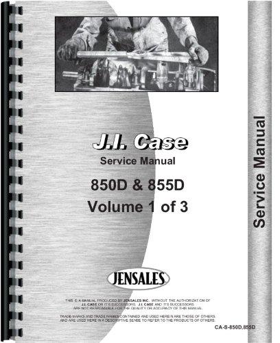Case 855D Crawler Service Manual