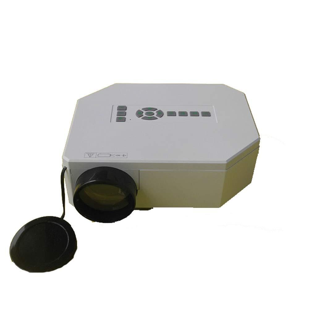 GJZhuan Proyector UC30 HD Mini Proyector Portátil 1080P Proyector ...