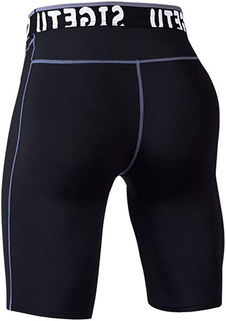 Summer Casual Athletic Bodybuilding Sports Beach Surfing Running Short Pants Trunks S-3XL Mens Shorts Fitness Tight-Drying