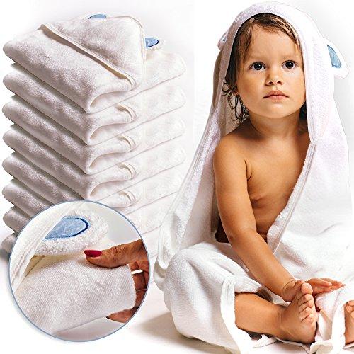 Baby Absorbent Back Towel (Bear) - 7