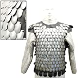 Medieval Middle Age Rusand Body Armor 20g Steel