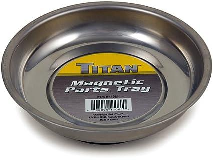 Amazon.com: Titan Tools 21263 Rectangular Magnetic Parts Tray (6.5
