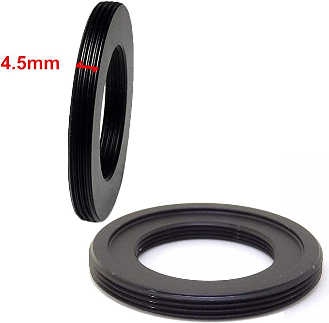 Balaweis C-M42 Adapter Compatible with C Mount Movie Lens to M42 Screw Thread Lens Mount Inner 25.4mm