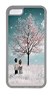 Durable Mobile Phone Protection Shell The Provisions Of The Beautiful TreeCases For iPhone 5C - Summer Unique Wholesale 5c Cases Transparent Soft Edge Case