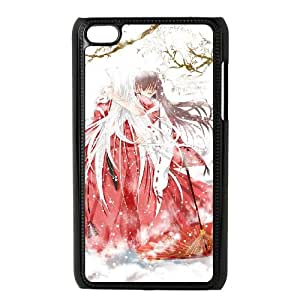 iPod Touch 4 Case Black Inuyasha 014 LAJ7118381
